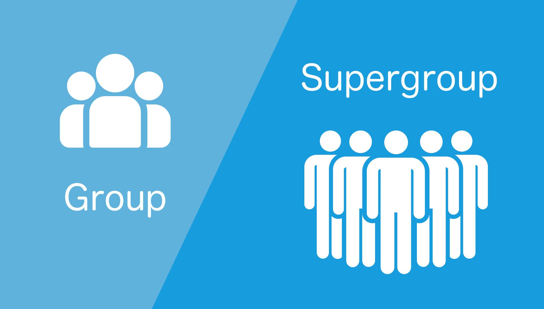 группа и супергруппа
