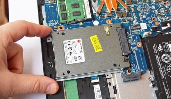 Замена жесткого диска на windows 10