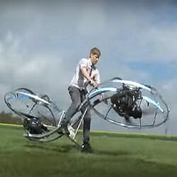 Летающий мотоцикл и Facebook для «десятки»