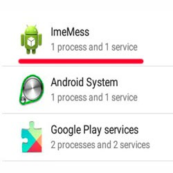 Зачем нужно приложение ImeMess на Android