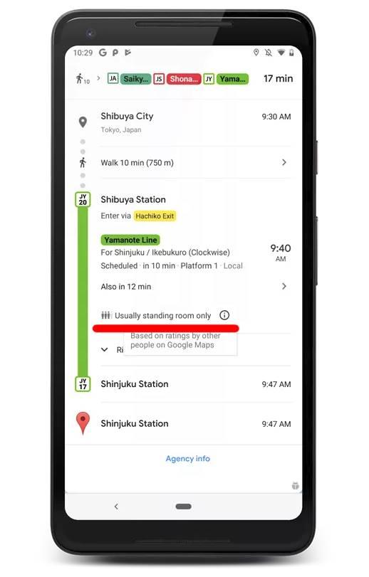 Google внедрила в Android смартфоны новый функционал, который сделает поездки более комфортными