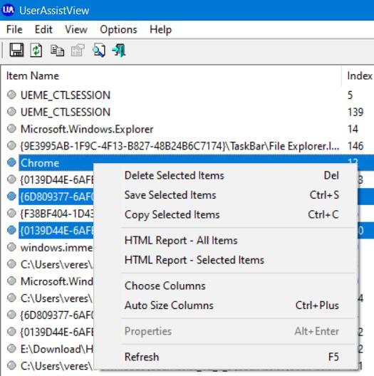 Как удалить/просмотреть следы активности, запускаемых на компьютере программ