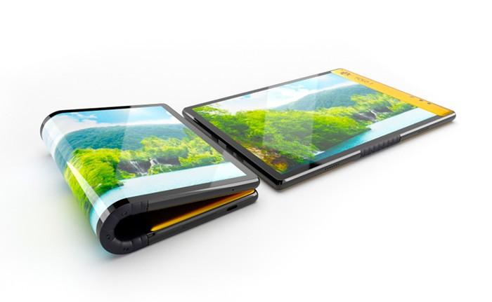 Представлен гибкий смартфон от Эскобара - новинка дешевле аналогов Samsung и Huawei почти в 6 раз