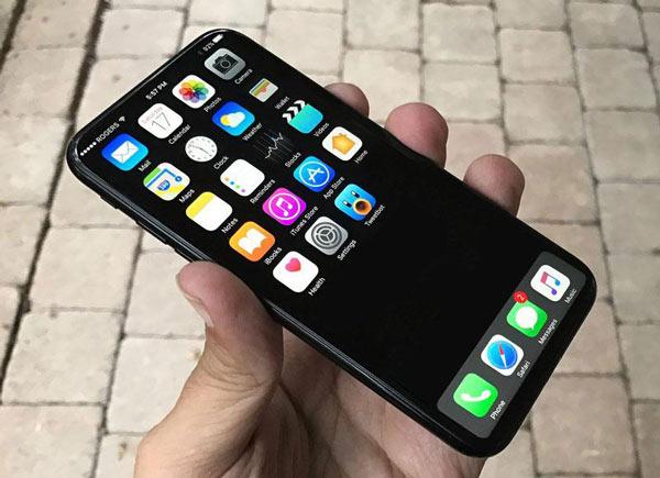Первый снимок айфона 8