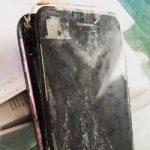 iphone немного взорвался!