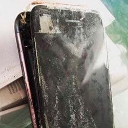 Новый iPhone взорвался прямо в руках