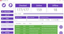 Использование Checker для IPTV и как проверять плейлисты на работоспособность