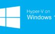 Как в ОС Windows 10 отключить Hyper-V, деактивация аппаратной виртуализации