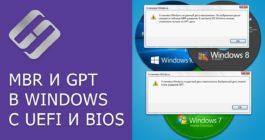 Как при установке Windows 10 из MBR сделать GPT диск, 4 способа преобразования