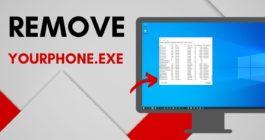 Как удалить или отключить приложение Ваш телефон в системе Windows 10