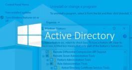Как на Windows 10 включить оснастку Active Directory, установка и управление