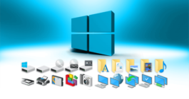 Как на Рабочем столе системы Windows 10 можно закрепить ярлыки и значки