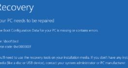 Код ошибки 0xc000000f при загрузке компьютера – как исправить ОС Windows 10