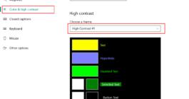Как в ОС Windows 10 отключить режим высокой контрастности – инструкция