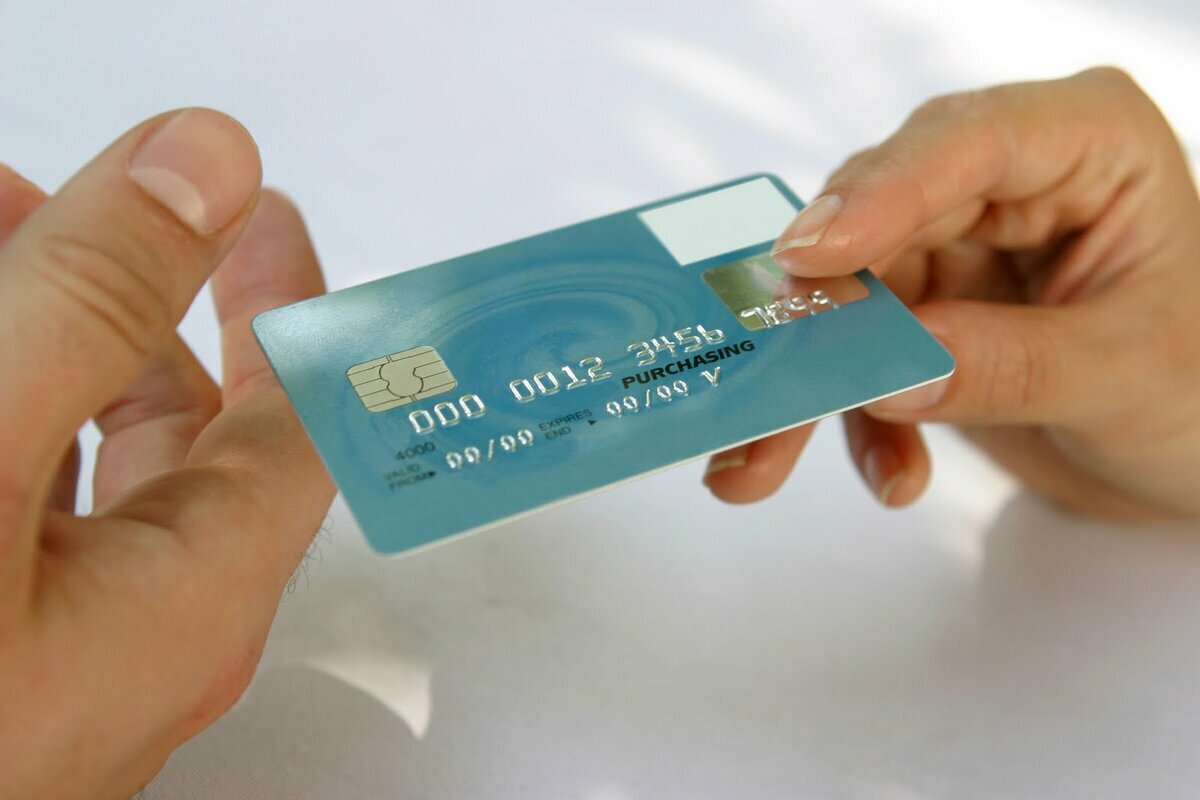 кредитку в банке