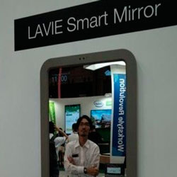LaVie Smart Mirror: умное зеркало от Lenovo