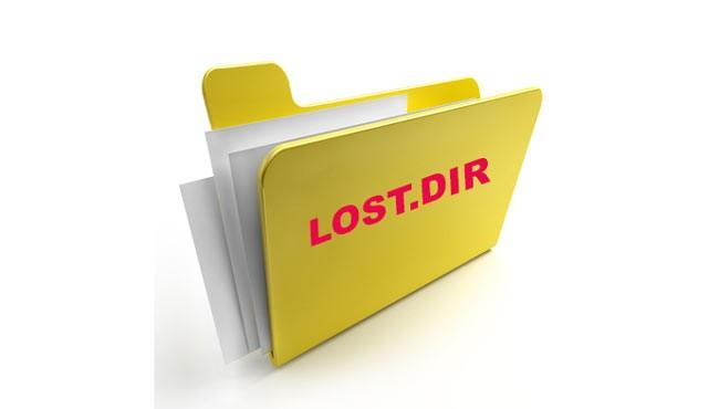 Особенности каталога LOST DIR