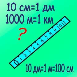 Как перевести метры в сантиметры, миллиметры, километры