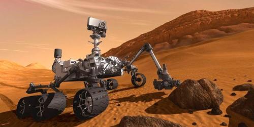 Робот скаут на красной планете