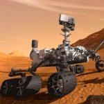 Дрон на Марсе