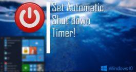 Как вывести и настроить кнопку выключения на Рабочий стол в ОС Windows 10