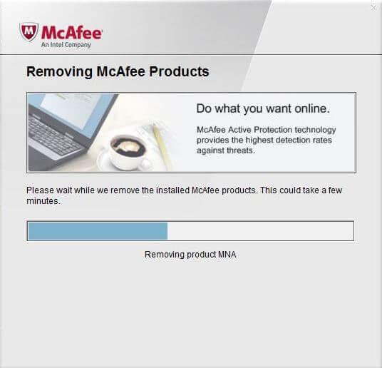 mcafee-remove программа