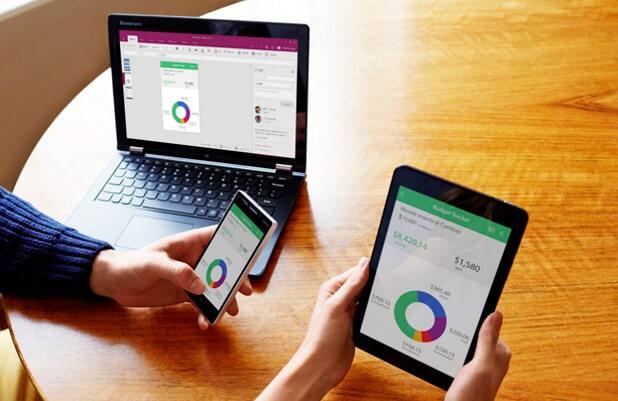 Мульти платформенное приложение PowerApps