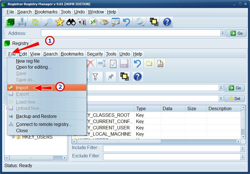 Что делать с ошибкой при доступе к реестру, когда не удается импортировать на Windows 10