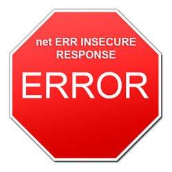 net ERR INSECURE RESPONSE — что это за ошибка в браузере