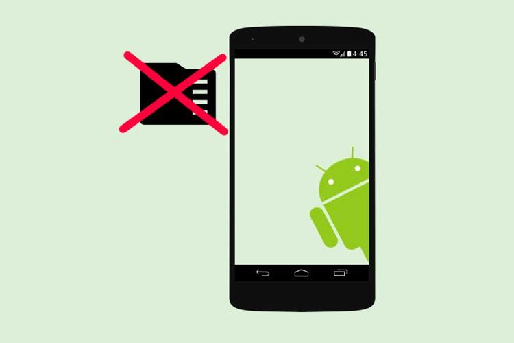 Телефон не видит карту памяти