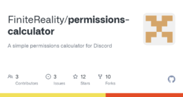 Описание и функционал Permissions Calculator в мессенджере Discord