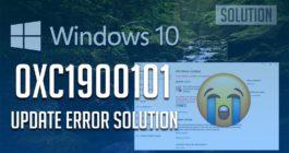 9 способов исправления ошибки 0xc1900101 при обновлении ОС Windows 10 1903