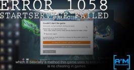 Что делать с ошибкой 1058 – Указанная служба не может быть запущена в Windows 10