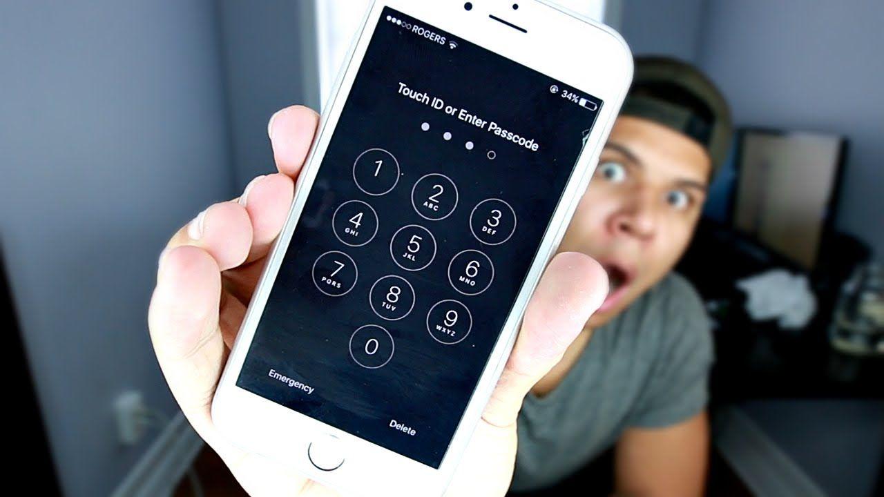 пароль на вход в телефон