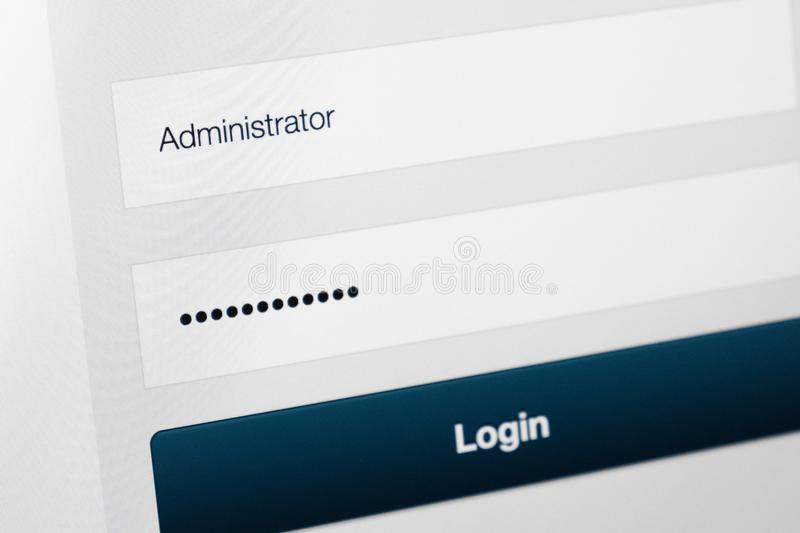 пароль скрытый точками