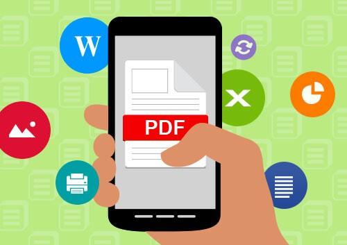 просмотр PDF на Андроид