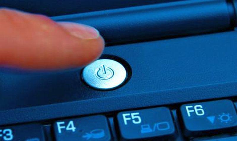 перезагрузка ноутбука