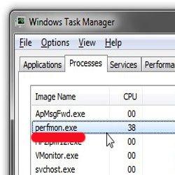 Perfmon.exe — что это за процесс грузит диск и ЦПУ