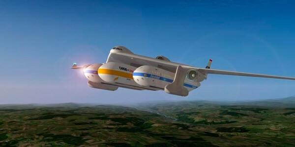 Новый вид авиа транспорта