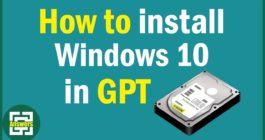 Порядок разделов на диске Windows 10 отличается от рекомендуемого GPT – решение