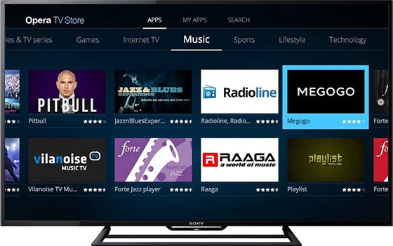 приложение Opera TV