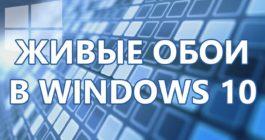 Топ-8 программ для живых обоев и как их установить на Рабочий стол Windows 10