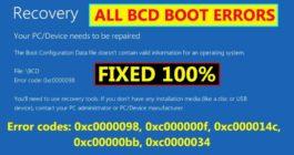 Что делать с recovery your PC/device needs to be repaired при установке Windows 10
