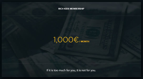 Лозунг сайта РичКидс