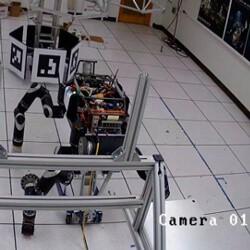 Видео: в лаборатории NASA взорвался робот