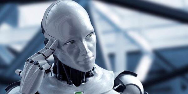 Робот думает о чем-то нехорошем
