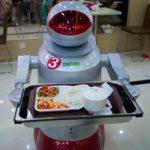 Робот с разносом