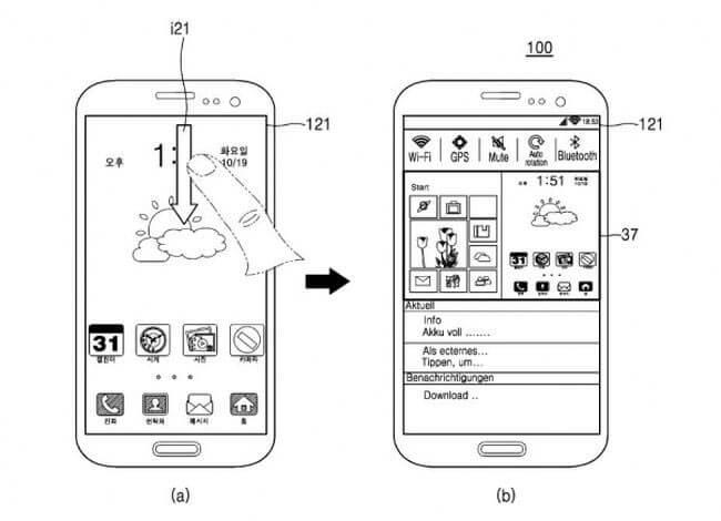 Схема телефона Самсунг с двумя ОС