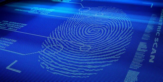 Биометрическая аутентификация по отпечатку