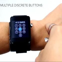 SkinTrack: «Сенсорная» рука поможет управлять умными часами